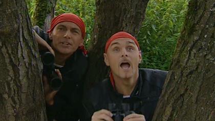 Die hinterlistigen Bandito-Brüder haben es auf das wertvolle Geschmeide abgesehen. (c) ORF