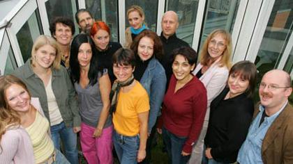 Das Team von Rat auf Draht (c) ORF