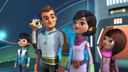 Disneys Miles von Morgen(c)ORF